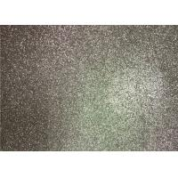 Cheap Bedroom Wallpaper PU Material Silver Glitter Fabric For Living Room Home Decor for sale