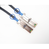 Cheap 5.0 Meters SFF 8088 26Pin External SAS Cable For Server for sale