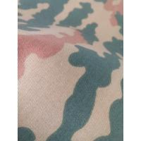 Cheap threee color woodland camouflage fabric for military for sale