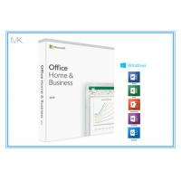 Buy cheap 1 Device MS Office Home And Business 2019 Product Key Card DVD Media For Mac/PC from wholesalers