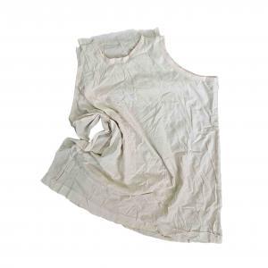Cheap 100% Cotton 30cm 55Cm 20kg/Bale White T Shirt Rags for sale