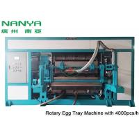 Cheap Automatic Pulp Molding Equipment / Rotary Recycle Paper Egg Tray Manufacturing Machine for sale