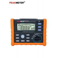 Cheap High Voltage Digital Insulation Resistance Tester With DCV And ACV Detection for sale