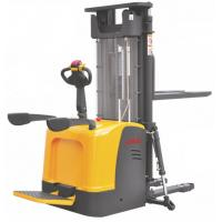Cheap Straddle Pallet Electric Stacker Truck High Performance 6.5m Lift Height for sale