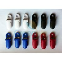 Cheap Strong Fastening Plastic Heavy Duty Suspender Clips With Teeth / Metal Sheet for sale