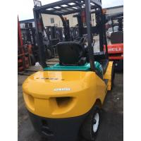 Cheap Gasoline Fuel Type Used Forklift Japan , second hand Komatsu Forklift 3000kg Rated Capacity for sale