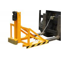 Buy cheap Horizontal Forklift Drum Lifter with Double Protection , 500Kg drum lifting equipment from wholesalers