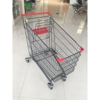 Buy cheap 270L Supermarket Shopping Trolley With Anti-UV Plastic parts And 4 casters from wholesalers