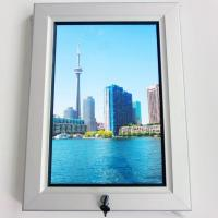 Cheap Outdoor Waterproof LED Poster Frame Swing Open With Secure Lock for sale