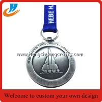 Cheap Custom dinghy medals for activity,dinghy boats medals with polished old nickel for sale