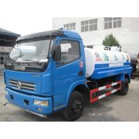 Cheap Dongfeng Used Oil Tanker 7350×2470×2710mm 10000L Tank Capacity With Red Diesel Motor for sale
