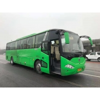 Cheap 8.9L 6 Cylinders 360Hp 12M Second Hand Zhongtong Bus for sale