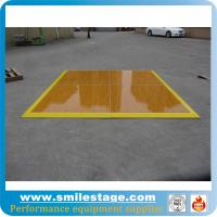 Cheap Aluminum frame dance floors with wooden platform for banquet for sale
