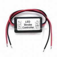 Cheap LED Strobe Controller for Indicator LED Bulb/LED Light, Easy to Install and Waterproof for sale