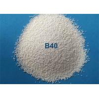 China Low Breakdown Rate Ceramic Bead Blasting Media For Metal Surface Finish on sale