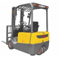 Cheap Three Wheel Electric Forklift Truck 1 ton capacity Small Turning Radius for sale