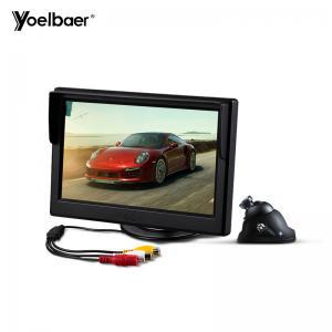 Cheap Mini Infrared Car Reversing Aid System Desktop 5 Inch Screen 16/9 Car Monitor Camera for sale