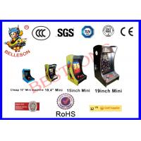 Mini 60 Classic Pacman Arcade Machine Full View Angle LCD Screen For Private Club