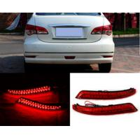 Cheap Red Waterproof Rear Bumper Light ABS Housing Material For Nissan Bluebird Sylphy for sale