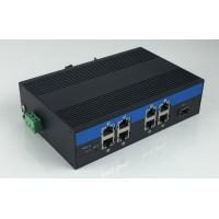 Cheap 8-Port 10/100/1000Base-Tx and 1-Port 1000Base-Fx Industrial Grade Fiber Switch with 8-Port POE for sale