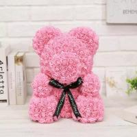 Cheap 2020 Soap Teddy Roses Bear Flower with Gift Box for All Occasion for sale