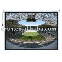 Cheap Motorized Electric Projection Screen for sale
