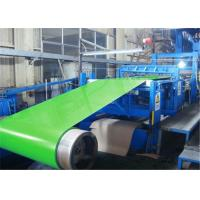 Structural Grade Cold Rolled PPGI Steel Coil RAL Color Coated 0.20mm - 1.2MM Thickness Manufactures