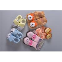 Cheap Knitted Slip Resistant Cotton Baby Socks For Keep Warm Custom Made Size for sale