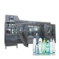 Cheap Complete Automatic Water Bottle Filling Machine With Washing Screwing 3 In 1 Monoblock for sale