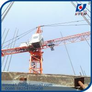 China QTZ40 Internal Climbing Tower Crane of Inner Erecting Type 4tons Load on sale