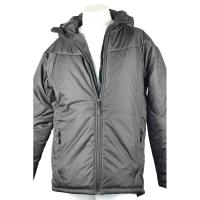 Cheap Durable Grey Light Padded Jacket Toasty Warm With Hot Transfer Printing for sale