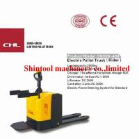 Buy cheap 2000kg Powered Pallet Truck Electric 600mm Load Center With PU Wheels from wholesalers