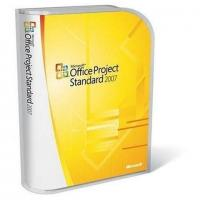 Cheap English Microsoft Project License Standard 2007 Upgrade 1 PC Digital Download for sale