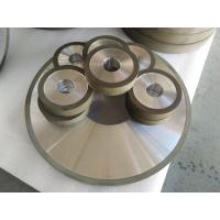 Cheap PCD Resin Bonded Diamond Grinding Wheels For Edge Grinding Machine High Precision for sale