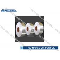 Cheap Copper Nickel Alloy Foils For Sea Water System Components Resistant for sale