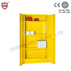 Cheap 36 Litre Hazardous Storage Cabinet  3 Shelves Large Customized Metal Cabinets for sale