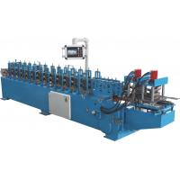 Cheap Automatic Doors Rolling Shutter Strip Making Machine / Metal Forming Equipment for sale