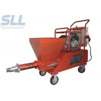 China spray gun of mortar plastering machine is convenient and easy to use Total Power 7.5kw on sale
