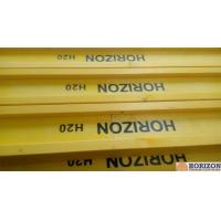 Cheap Waterproof Treated H20 Timber Beam , Yellow Timber H BeamFor Slab Formwork for sale