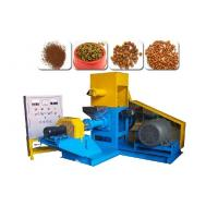 Cheap Cat Dog Feed Pellets Making Machine 18.5KW Power Motor 380V / 3 Phase for sale