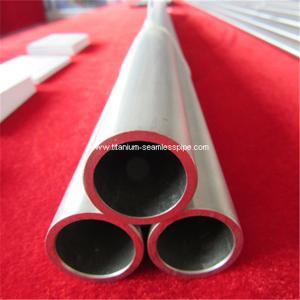 Cheap grade 2 titanium Tube seamless gr2 titanium pipe 50mmOD * 5 mm TH*1000mm L for sale