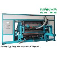 Cheap Automatic Rotary Egg Tray / Egg Carton Making Machine High Output Pulp Molded for sale