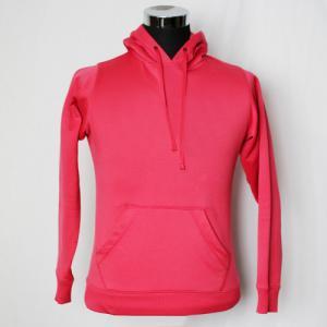 Cheap Brushed Fleece Hooded Sweatshirt Jacket Full Sleeves Not Easily Deformed for sale