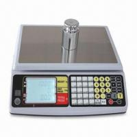 Buy cheap Price Computing Scale with 3 to 30kg Capacity and Large LCD Display from wholesalers