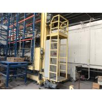 Cheap Bolted Structure Automated Warehouse Racking Systems With SS400 / Q345B Steel Material for sale