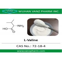 Cheap 99 HPLC amino acid cas 72-18-4 l-valine Natural Health Supplements for sale