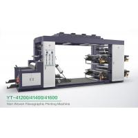 Buy cheap High Speed 4 Colour Flexographic Printing Machine For Paper Printer / Label from wholesalers