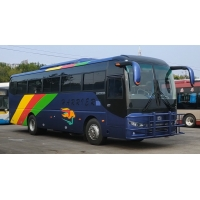 Cheap 6 Tire Brand New Zhongtong Bus Front Engine 51 Seats LCK6108D for sale