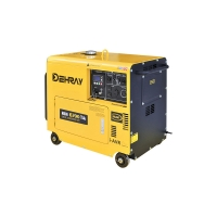 Cheap 6KVA Portable Diesel Powered Generator for sale
