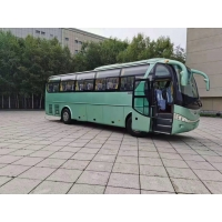 Cheap LHD Rear Engine Steel Chassis Used Passenger Bus 47 Seats ZK6100 for sale